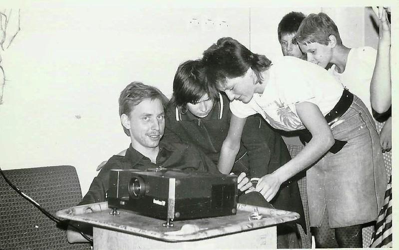 Grupa V dziewcząt  - Małgosia i Iwona, 16.09.1987