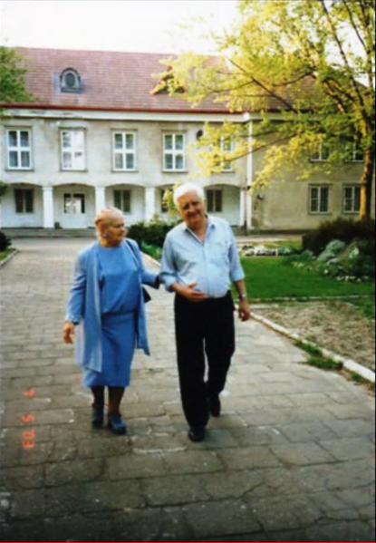 Barbara Pisarska i Krzsztof Dembiński