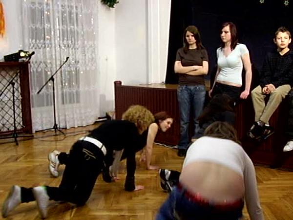 Wystep taneczny wychowanków Domu Dziecka nr 3 z Warszawy
