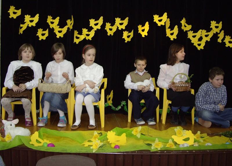 Występy najmłodszych wychowanków Domu Dziecka