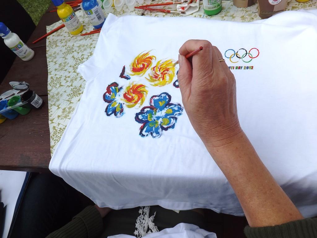 Malowanie koszulek w/g własnej aranżacji