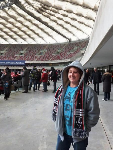 Wejście na Stadion Narodowy udostępnione