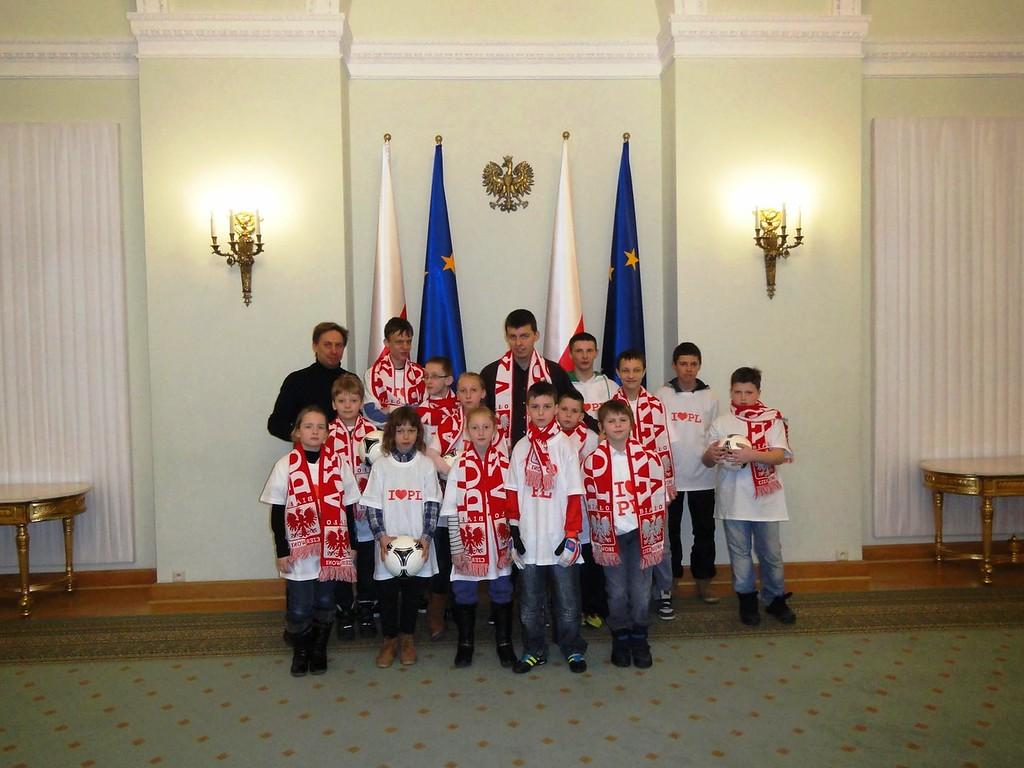 Z wizytą w Pałacu Prezydenckim