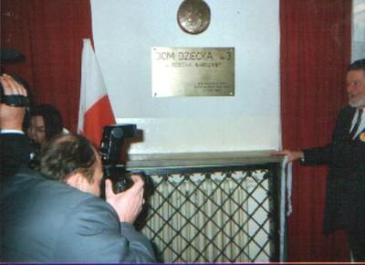 Wizyta Aleksandera Małachowskiego, wicemarszałeka Sejmu 1993 - 1997