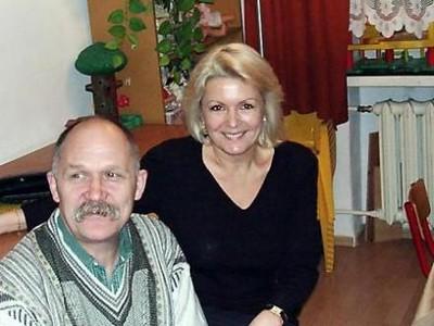Gabriela Kownacka, aktorka z wizytą u dzieci z ulicy Dalibora 3 w Warszawie.