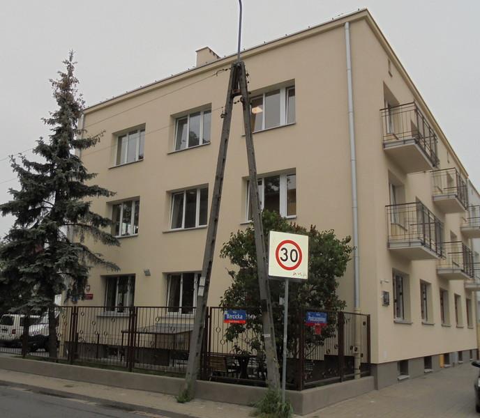 Widok od ul Podczaszyńskiego