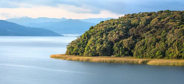 Isla de la Corota y la Laguna de la Cocha