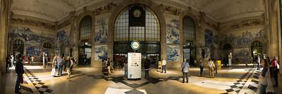 Estação de Sao Bento - Porto -Portugal