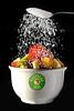Salada de frutas com açucar