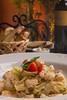 Fettuccine com camarão