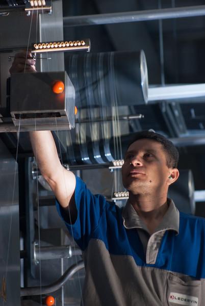 Controle de qualidade na fabricação de fios