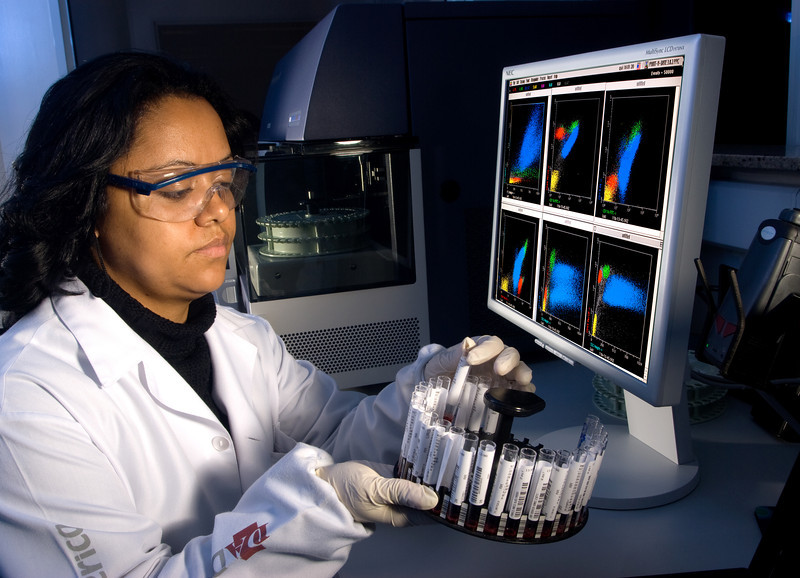 Laboratório de análise clínica