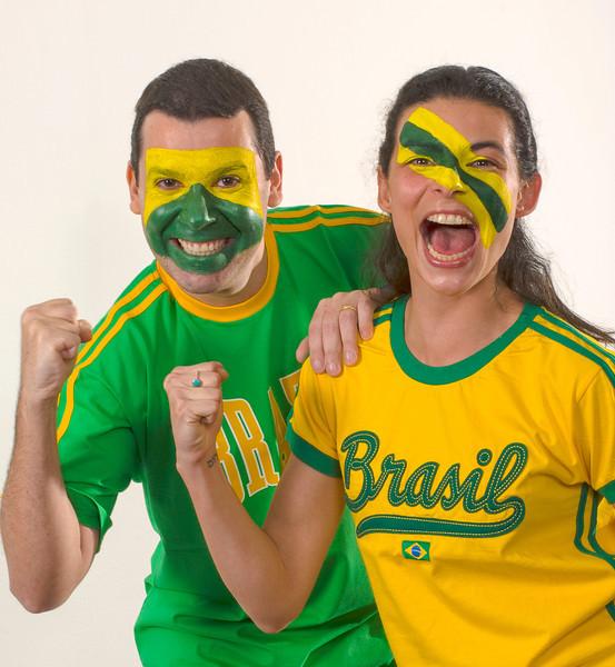 Torcida carapintada do Brasil