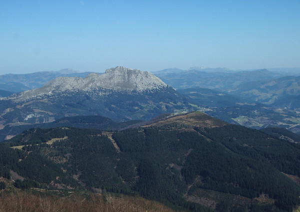 Vistas del Udalatx.