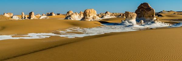 weisse Wüste