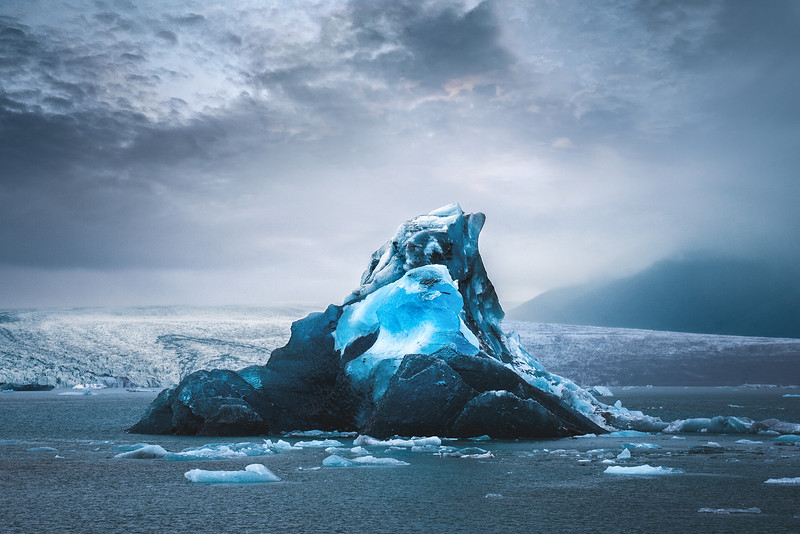 Détachement glacial