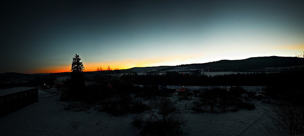 Zima na Šumavě