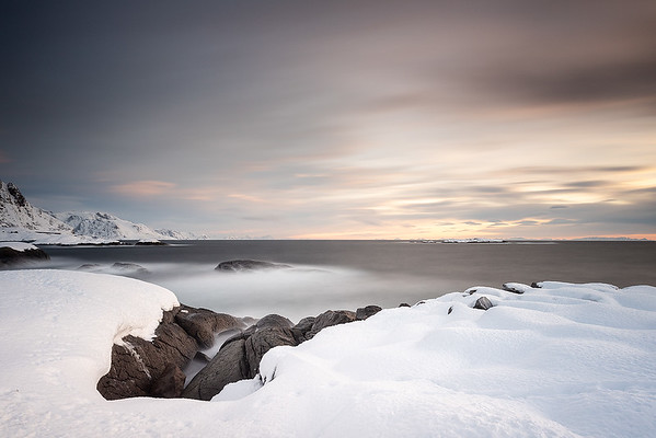 Morgenstimmung bei Hamnøy