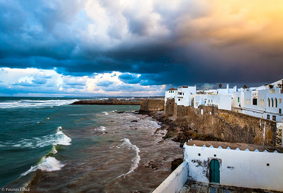 Storm over Asilah