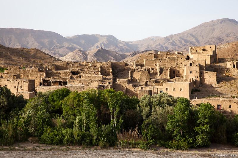 Kasbah dans la Région de Bni Tadjite