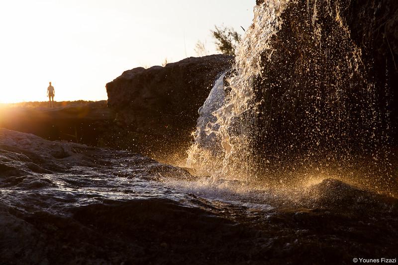 L'Alien des cascades de Oued Za