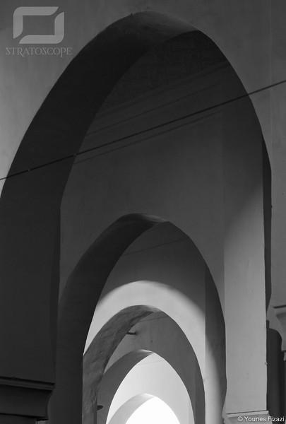 Arches de la Grande Mosquée (Jamaa El Kbir), Figuig