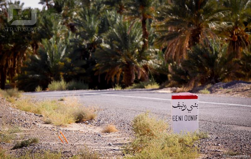 Vers Bni Ounif, à quelques métres de la frontière avec l'Algérie...