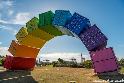 Container Regenbogen Fremantle