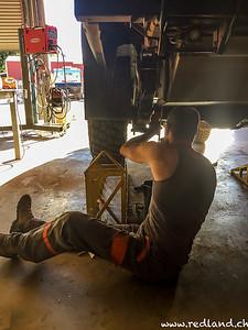 Demontage/Montage Dieseltank
