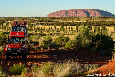 Pfusiplatz in der ersten Reihe, Uluru