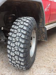 neue Reifen BF Goodrich Mud Terrain