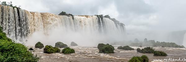 Iguazu Wasserfälle Brasilianische Seite