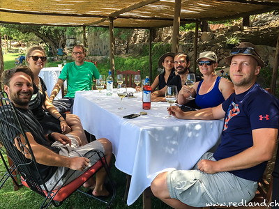 Winetasting in Finca Las Nubes
