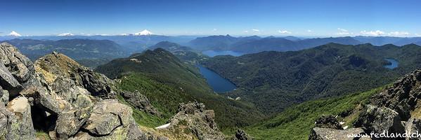 Parque Nacional Huerquehue - Cerro San Sebastian