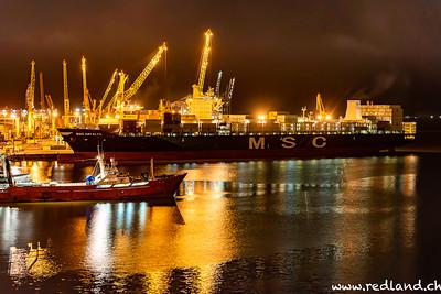 Hafengelände Montevideo