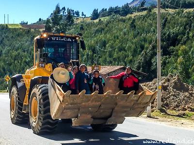 Personentransport auf peruanisch
