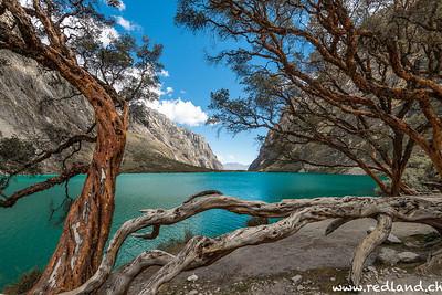 Parque Nacional Huascaran, Laguna Llanganuco