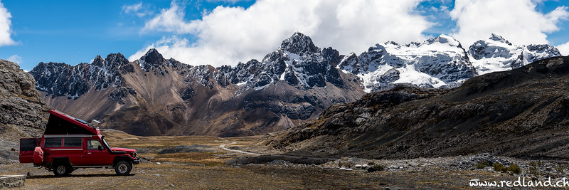 Parque National Huascaran, Pastoruri Gletscher
