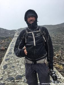 Parque National Huascaran, Schneeregen zum Zweiten