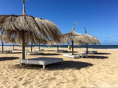 Strand in La Barra