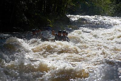 Divoká voda pod Lipnem 2011