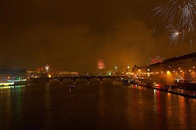 Ohňostroj v Praze
