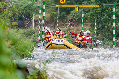 Divoká voda pod Lipnem 2012