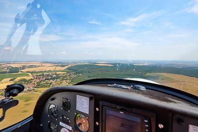 Let v letadle Zephyr | Flight in airplane Zephyr