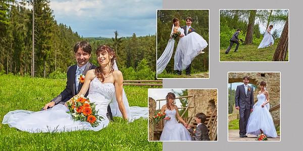 Ivana a Petr – svatba
