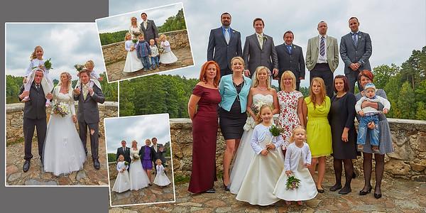 Adéla a Václav – svatba