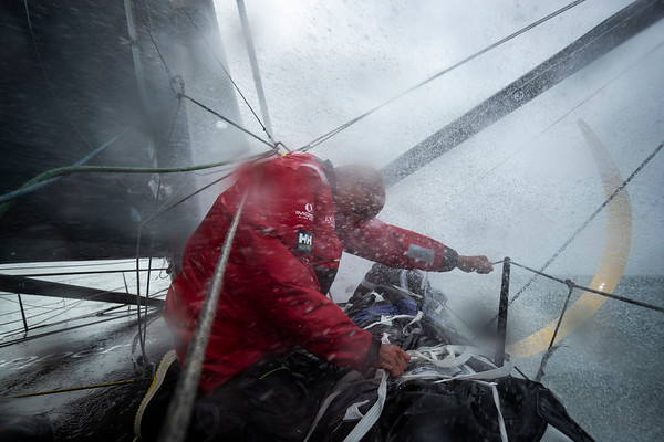 OFF La Trinité sur Mer - October 6: French skippers Armel Tripon sailing on the Imoca l'Occitane, training prior for the vendee globe, on October 6, 2020, off La Trinité dur Mr, South Brittany, France - Photo Pierre Bouras / L'occitane en Provence