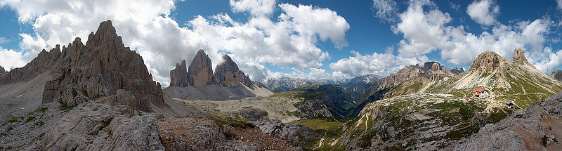 Itálie, Rakousko a Německo – panoráma