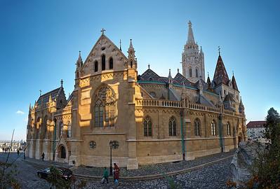 Maďarsko – Budapešť – 2013 – město a památky