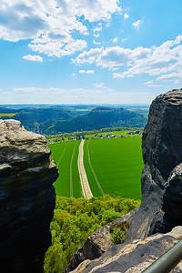 Pevnost Königstein a stolová hora Lilienstein – Německo